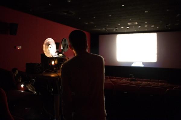 8mm放映 8mm Screening