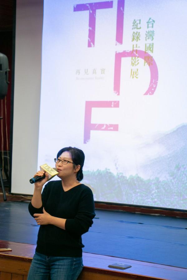 TIDF台中巡迴《日常對話》映後座談,導演黃惠偵