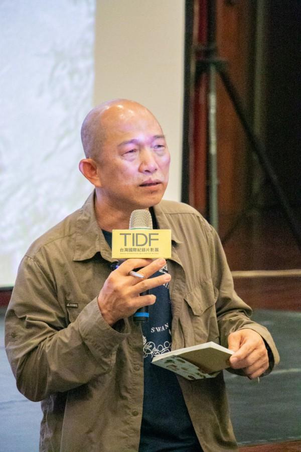TIDF台中巡迴《前進》映後座談,導演柯金源