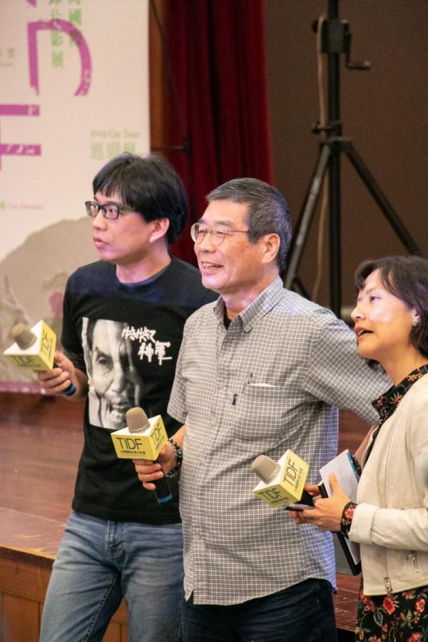 TIDF台中巡迴《怒祭戰友魂》映後座談,導演原一男
