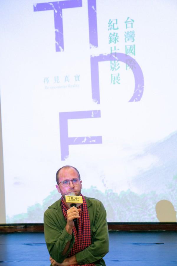 TIDF台中巡迴《荒漠沙海》映後座談,導演史杰鵬 J.P. Sniadecki
