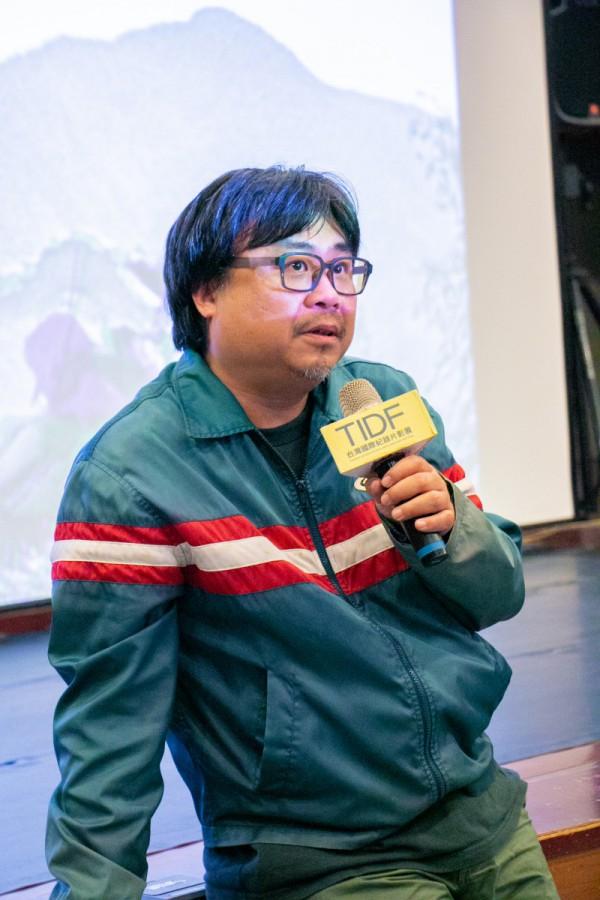 TIDF台中巡迴《Goodnight & Goodbye》映後座談,導演吳耀東