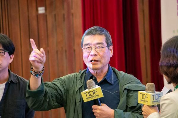 TIDF台中巡迴《全身小說家》映後座談,導演原一男