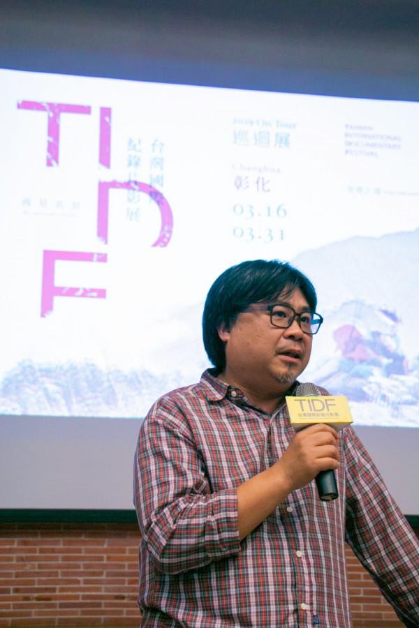 TIDF彰化巡迴《Goodnight & Goodbye》映後座談,導演吳耀東