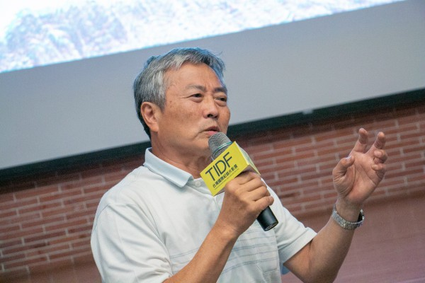 TIDF彰化巡迴《日本國VS泉南石綿村》映後分享,講者楊澤民