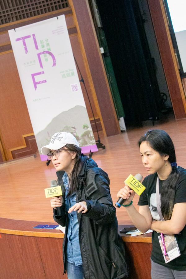 TIDF彰化巡迴《怒祭戰友魂》映後分享