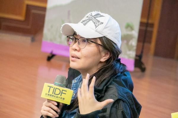 TIDF彰化巡迴《怒祭戰友魂》映後分享,講者阿潑