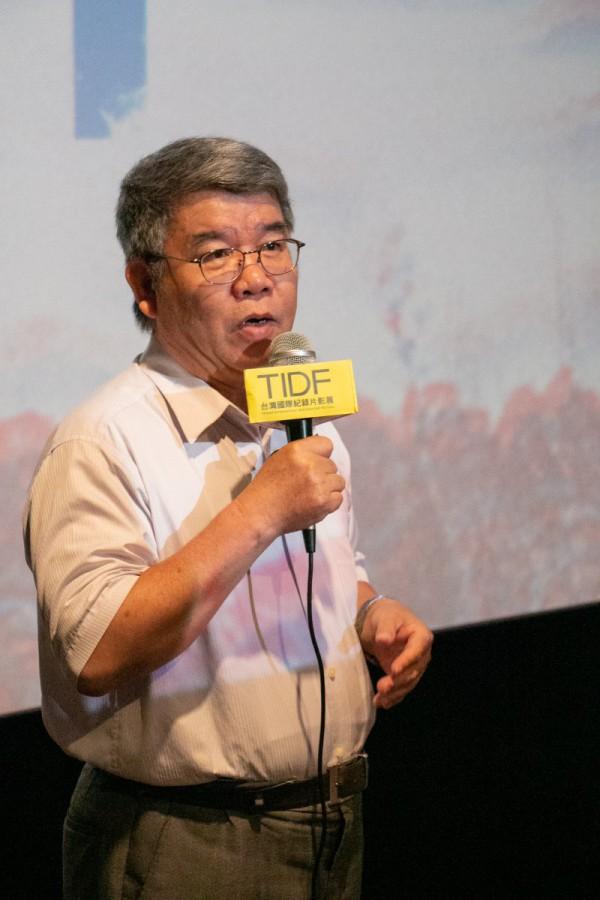TIDF屏東巡迴《借問阿嬤》映後分享,講者李錦旭