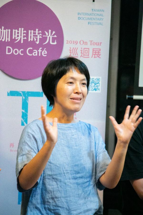 咖啡時光:《未來的列車》@都蘭小洋房書店,講者林明玉