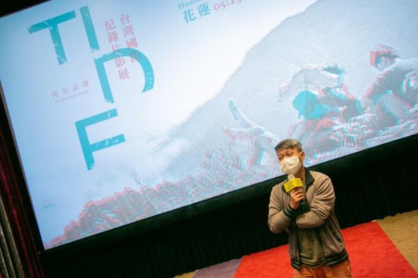 TIDF台東巡迴《柬埔寨之春》映後分享,講者陳君明