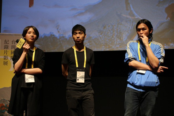 李佳泓、黃奕捷、廖烜榛,《錢江衍派》導演  LEE Chia-hung, HUANG I-chieh, LIAO Xuan-zhen, directors of Time Splits in the River