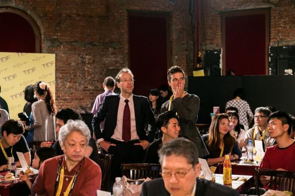 第十屆台灣國際紀錄片影展頒獎典禮於5月12日在紅樓舉行 The award ceremony of 10th TIDF was held on 12 May at Red House