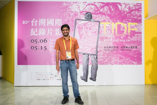 Aman Mann,《夜寐之城》副導演  Aman Mann, co-director of Cities of Sleep